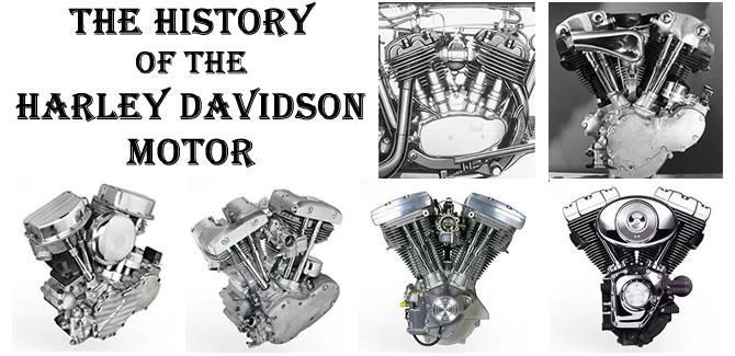 History of the Harley Davidson Motors - CycleFish com