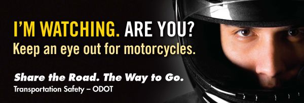 Ride safe message