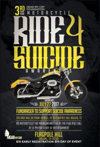 Motorcycle Ride for Suicide Awareness