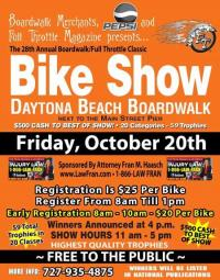 28th Annual Full Throttle Magazine Daytona Beach Boardwalk Bike Show