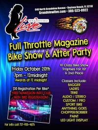 Full Throttle Magazine Bike Show and After Party
