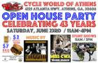 Cycle World 43rd Annual Open House Party