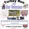 "1st Annual Turkey Run ""For the Vets"""