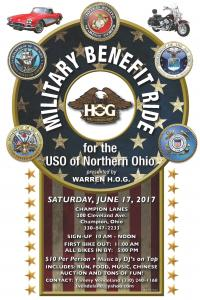 Military Benefit Ride