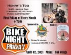 Henrys Too Bike Night