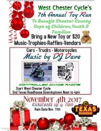 7th Annual Chester County Toy Run