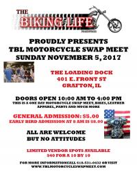 TBL Motorcycle Swap Meet