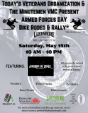 The Armed Forces Day Bike Rodeo & Rally
