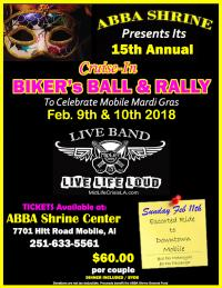 ABBA Shrine Center Biker Ball & Cruise In