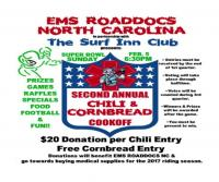 Second Annual Chili & Cornbread Cookoff Super Bowl Sunday