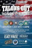 Talons Out Honor Flight Cruise In Night