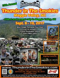 Thunder in the Smokies Fall Rally
