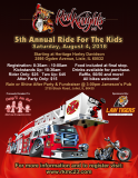 Red Knights IL 23 5th Annual Ride For The Kids