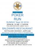 Lynx MC Ladies Auxiliary Poker Run