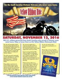 Yellow Ribbon Ride