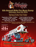 Red Knights IL 23 6th Annual Ride For Burn Camp