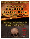 14th Annual Haunted Harley Ride