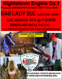 Bag Lady Sue 4 1st Responders