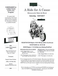 A Ride for a Cause