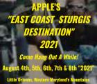 Apples Annual East Cost Motorcycle Rally 2021