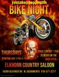 Bike Night at the Elkhorn Country Saloon