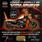 Harley Davidson Sportster Raffle benefiting The Rose