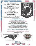 Rolling Thunder NC-1 11th Annual Remembrance Run