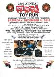 USMC Toys For Tots Toy Run