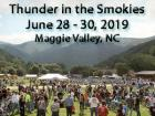 Thunder in the Smokies Summer Motorcycle Rally 2019
