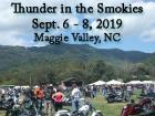 Thunder in the Smokies Fall Motorcycle Rally 2019