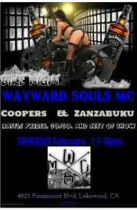 Wayward Souls MC BIKE NIGHT