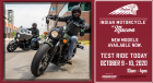 Demo Ride at Indian Motorcycle of Macon