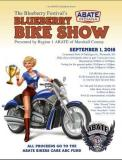 Blueberry Festival Bike Show