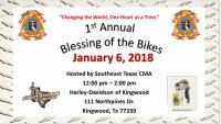 1st Annual Blessing of the Bikes