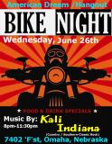 Kali Indiana at the American Dream/Hangout's Bike Night