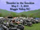 Thunder in the Smokies Spring Motorcycle Rally 2019
