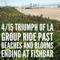 Group Ride past Beaches and Blooms