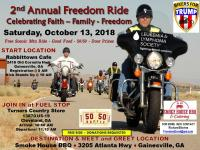 2nd Annual Freedom Ride - Free Ride for Everyone