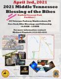 11th Middle Tennessee Blessing Of The Bikes