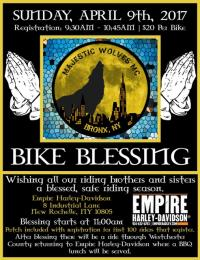 Majestic Wolves MC 2nd Annual Bike Blessing
