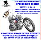 4th Annual Freedom Fest Wounded Warrior Poker Run