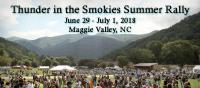 Thunder in the Smokies Summer Motorcycle Rally