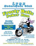 Frosty Balls Poker Run Lynx MC