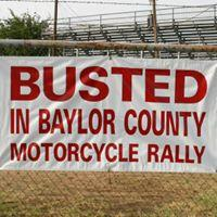 Busted In Baylor County Motorcycle Rally