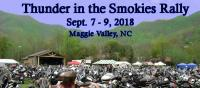 Thunder in the Smokies Fall Motorcycle Rally