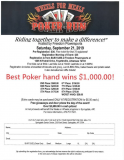 10th Annual Wheels for Meals Poker Run