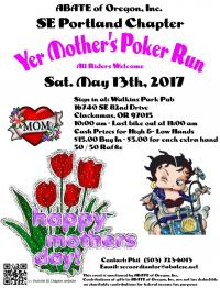 Yer Mother's Poker Run