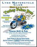 52nd Lynx MC Turkey poker run