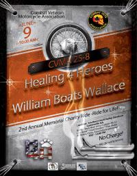 "2nd Annual Willie ""Boats"" Wallace Memorial Ride"