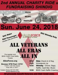 Veteran Charity Ride and Fundraising
